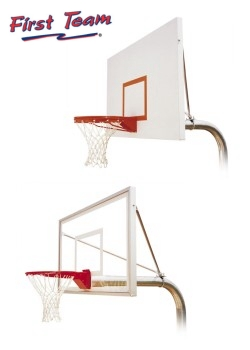 Basketball hoops, goals, systems.